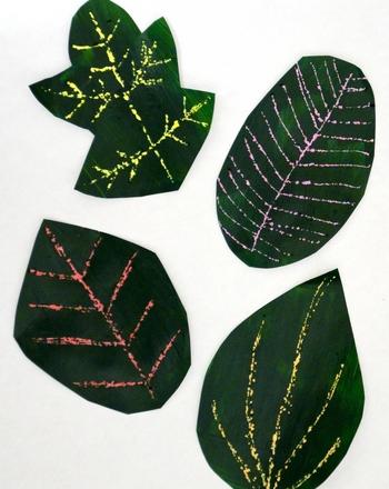 Волшебные превращения листьев