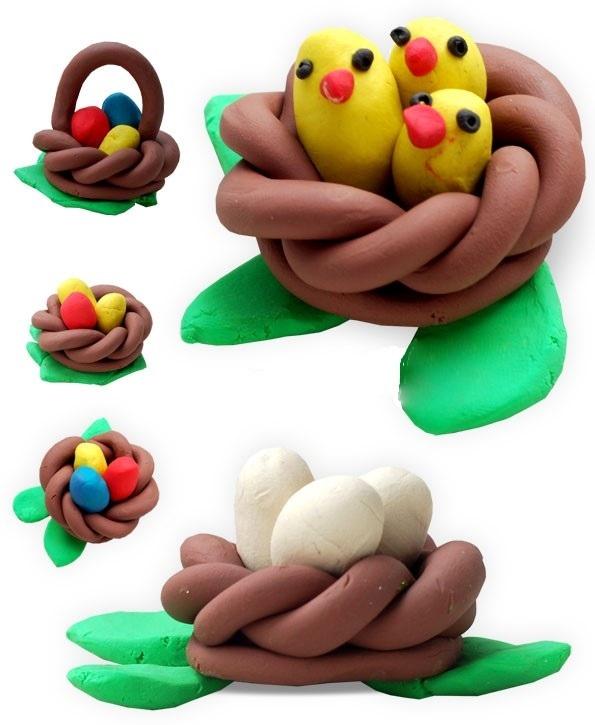 Корзинка для птенцов