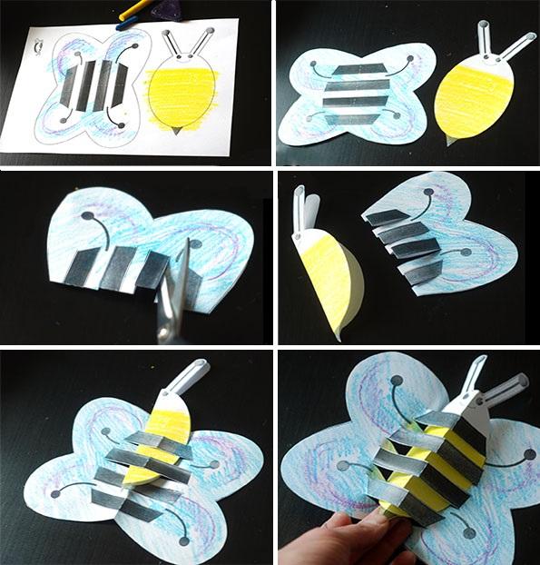 Как сделать пчёлку