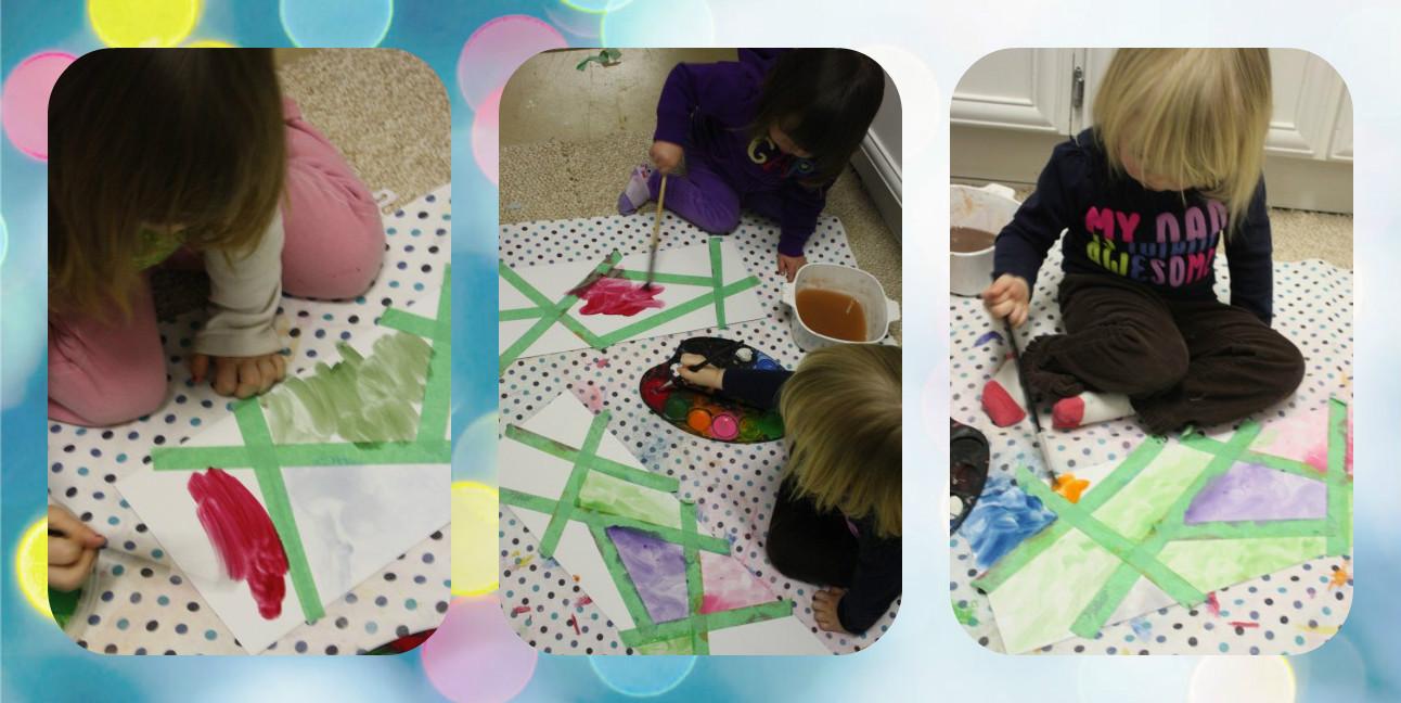 Витражное искусство для малышей