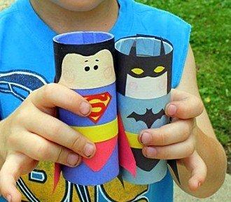 Супергерои из втулки