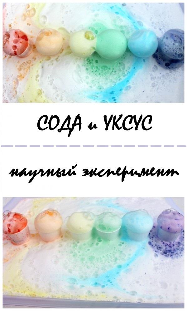 Разноцветная пена