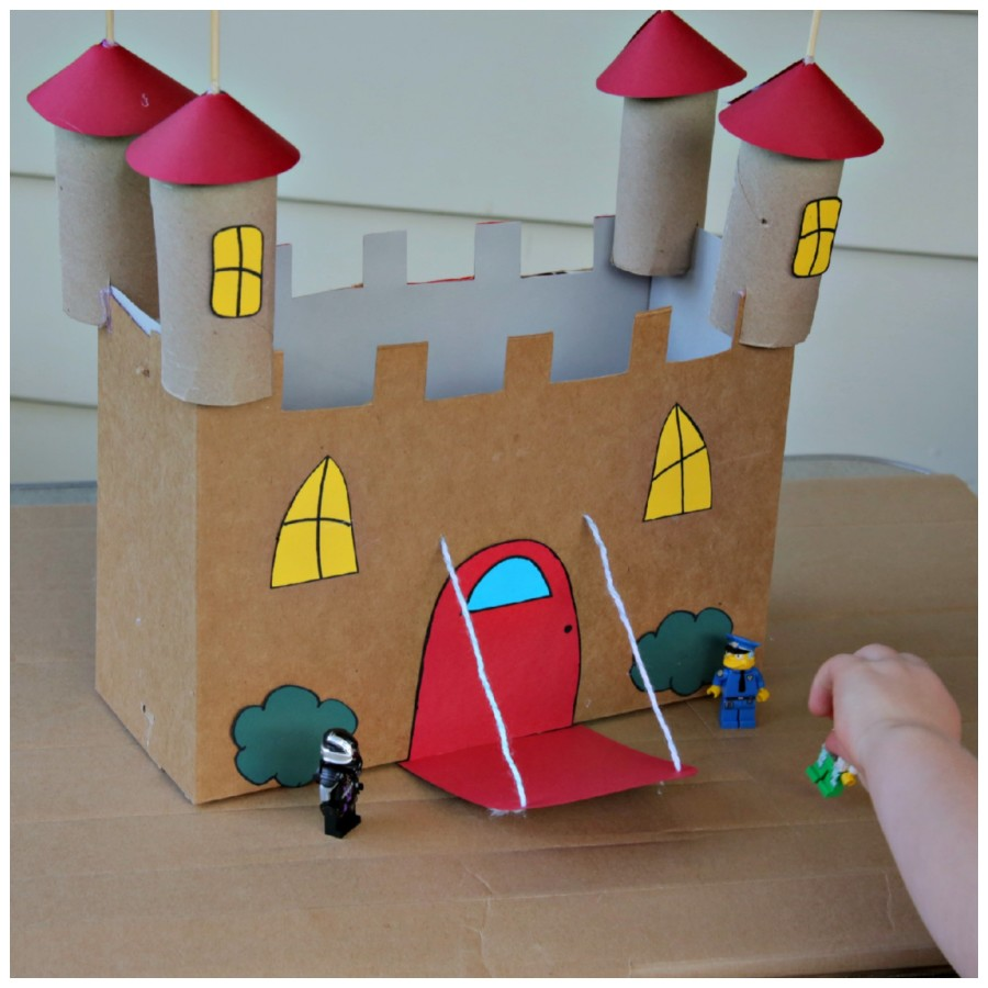 Детские поделки из коробок своими руками фото