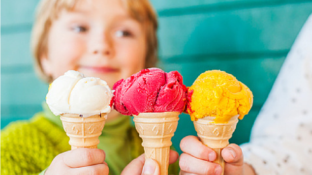 Мороженое для ребенка