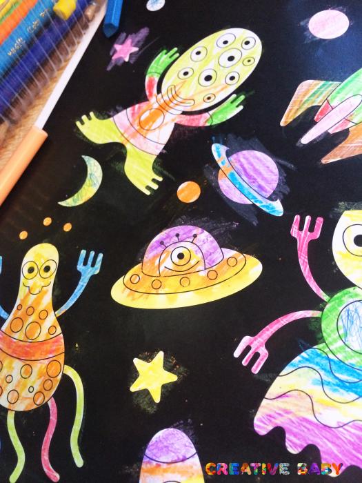 """Постер """"Инопланетяне"""""""