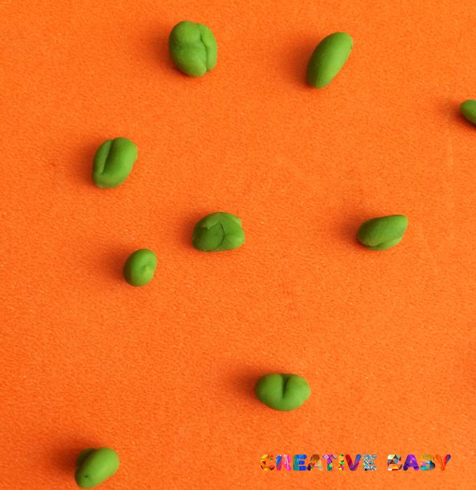 Простые поделки из пластилина для детей 2-3 лет 87