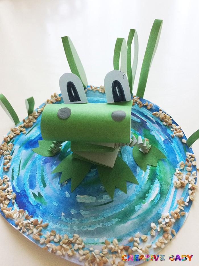 3D аппликация «Лягушка»