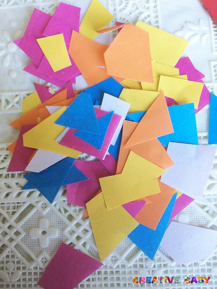 «Ящерица»  из цветной бумаги
