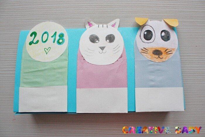 kalendar-10 Календарь своими руками - 80 фото, шаблоны и идеи оформления как сделать красивый календарь